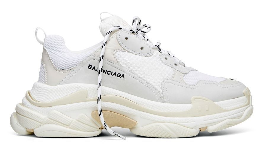 Balenciaga Triple S (White) (003)