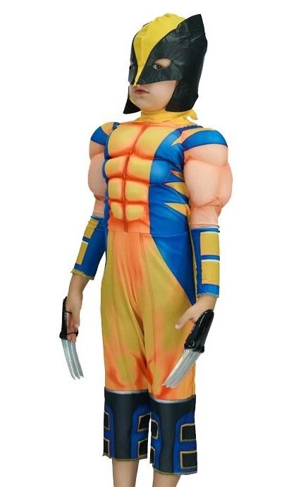 Люди Икс костюм детский Росомаха