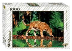 """Пазл """"Леопард у воды"""", 1000 частей"""