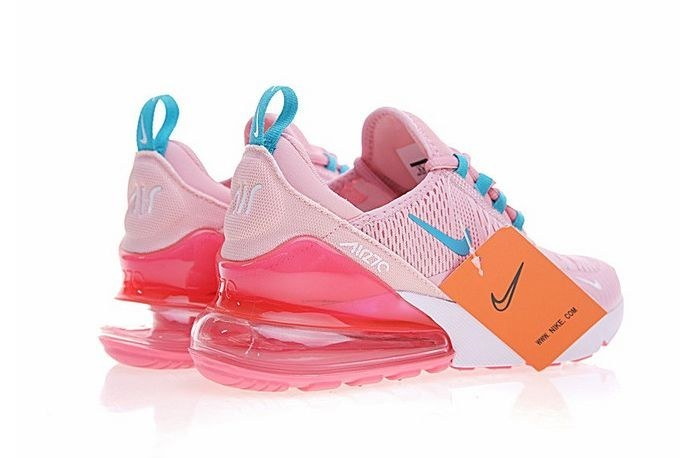 Nike Air Max 270 (Pink/White/Blue) (022)