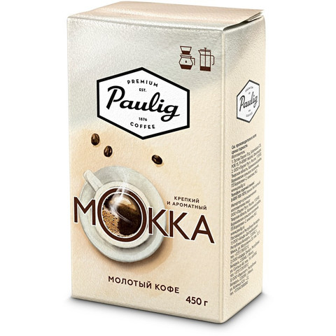 Кофе Paulig Mokka молотый 450 г.