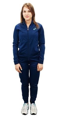 ASICS TRACKSUIT POLYWARP женский спортивный костюм синий