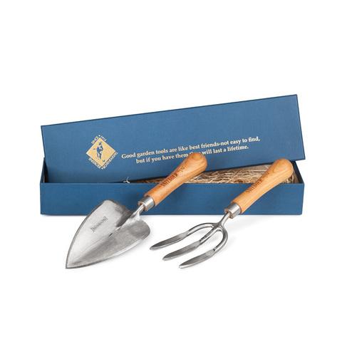 Набор садовых инструментов (совок+вилка) Sneeboer, в подарочной коробке