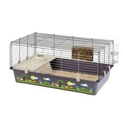 Клетка для кроликов и морских свинок, Ferplast RABBIT 100 DECOR 95 x 57 x h 46 см