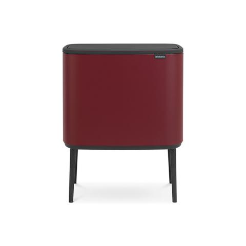 Мусорный бак Touch Bin Bo (36 л), Минерально-бордовый, арт. 316302 - фото 1