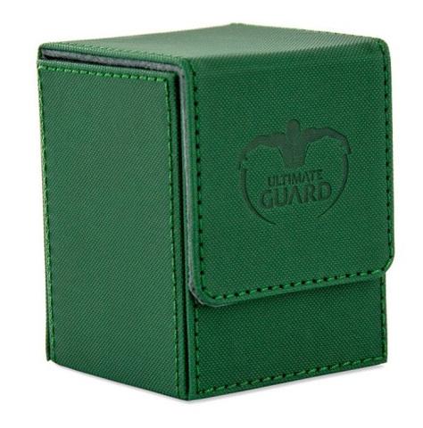 Ultimate Guard - Коробочка XenoSkin зеленого цвета на 100+ карт для Коммандера