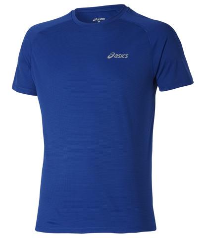 Футболка для бега Asics SS TOP мужская синяя