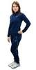 Женский спортивный костюм Asics Tracksuit Polywarp (130830 8052) синий фото