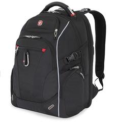Рюкзак Wenger, Scansmart 15'' черный/красный, 34x22x46 см, 34 л