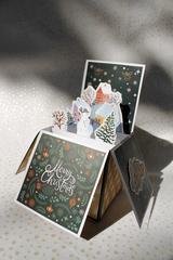 036-9947 Pop-up открытка-коробочка