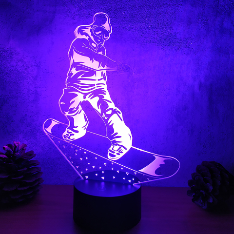 Светильник Сноубордист