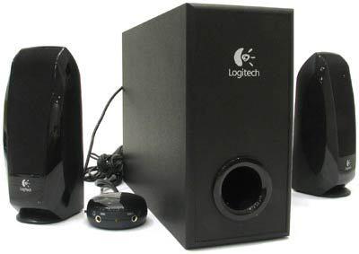 LOGITECH S-220 black