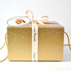 Кулич Casa Rinaldi Традиционный в золотой коробке 750 г