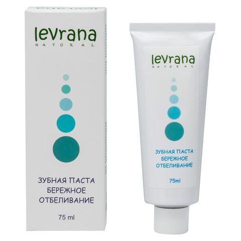 Levrana, Зубная паста Бережное отбеливание, 75мл