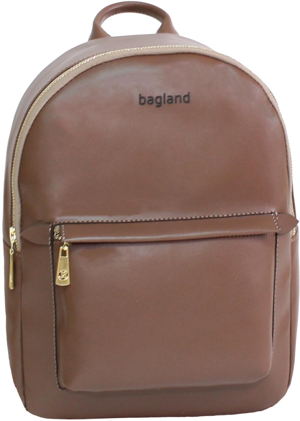 Городские рюкзаки Рюкзак Bagland Linda 6 л. 299 коричневый (0014096) IMG_8892.JPG