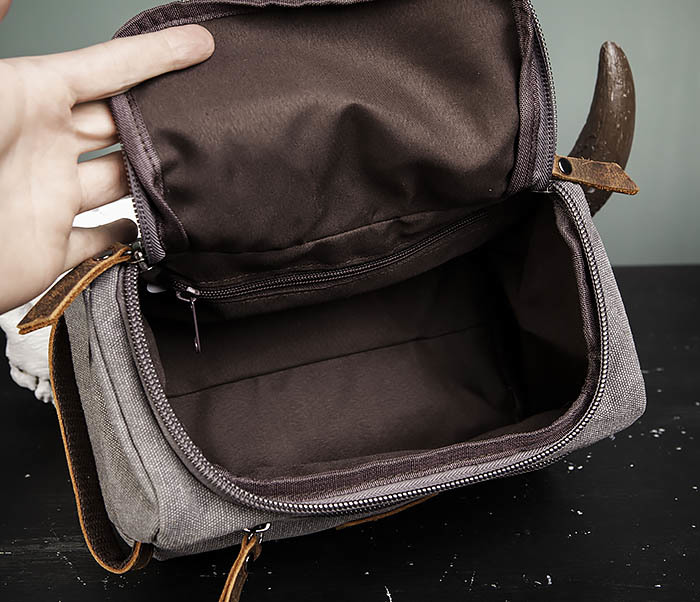 BAG480-3 Дорожный мужской несессер из текстиля фото 05