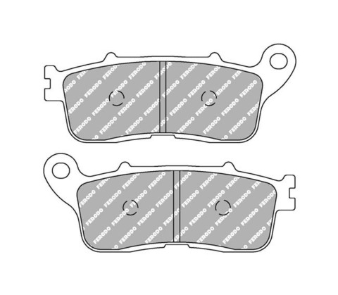 Задние тормозные колодки FDB2281ST для Honda VFR 1200