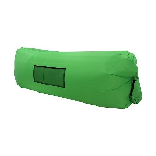 Надувной лежак, LAMZAC, зеленый
