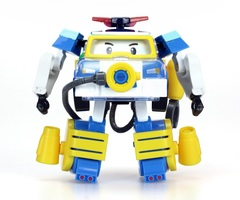 Robocar Poli Трансформер Поли (10 см) + костюм водолаза (83310)