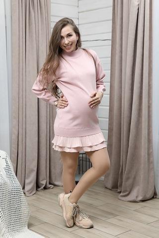 Платье для беременных 11329 розовый