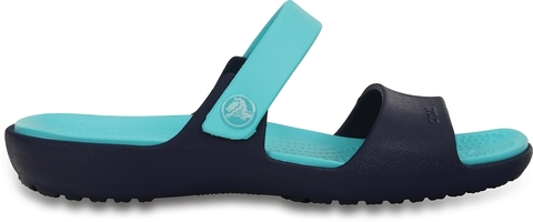 Женские сандалии Crocs Coretta W (Nautical Navy/Pool)