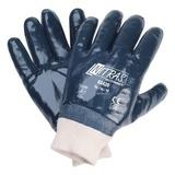 Перчатки трикотажные с нитриловым покрытием, манжета, обливные (Nitras)