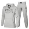 Мужской тренировочный костюм Asics Training Club серый с капюшоном