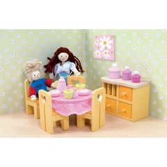 Кукольная мебель Сахарная слива Столовая, Le Toy Van
