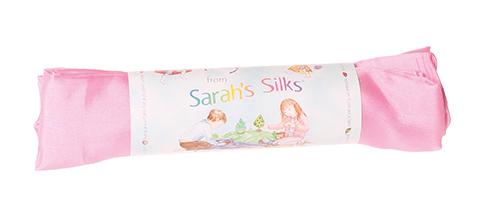 Шёлк игровой 86х86 см бледно-розовый (Sarah`s Silks)