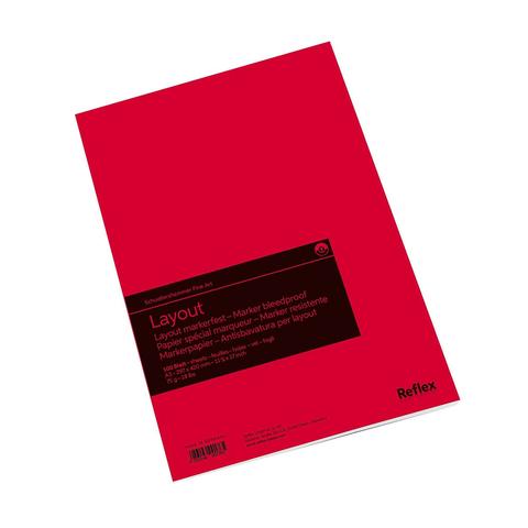 Альбом для маркеров Reflex Layout, А3, 100 л., склейка по короткой стороне
