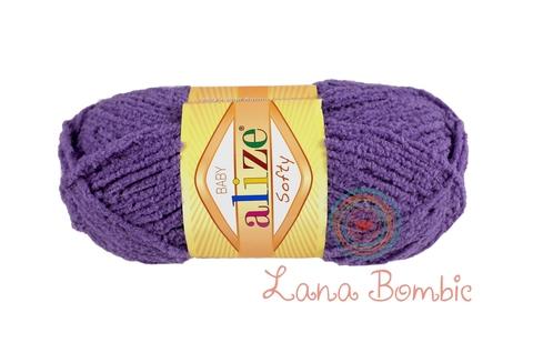 Пряжа Alize Softy фиолетовый 42