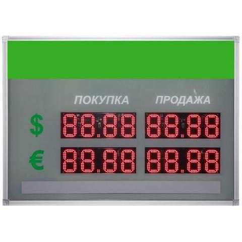 Табло курсов валют TEN1-90x2 (двухстороннее)