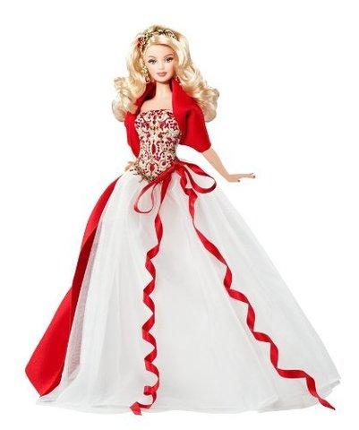 Коллекционная кукла Барби  2010 г. - Праздничная, Mattel