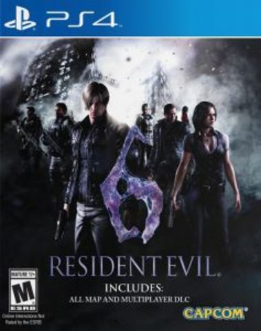 Sony PS4 Resident Evil 6 (русские субтитры)