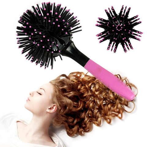 3D-расческа Bomb Curl Brush для укладки