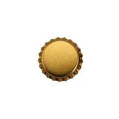 Кроненпробки золотые 26 мм, 80 шт