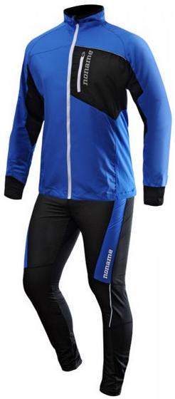 Мужской костюм для бега Noname Robigo (2000777-2000778) черный/лайм
