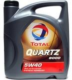 Total 9000 quartz 5W-40 - Синтетическое моторное масло (4л)
