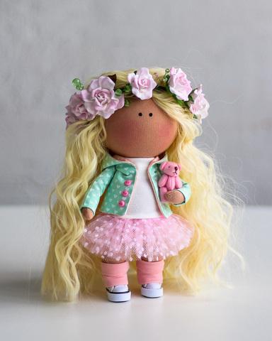Лялька Фло. Колекція Flower doll