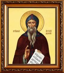 Антоний Дымский преподобный. Икона на холсте.