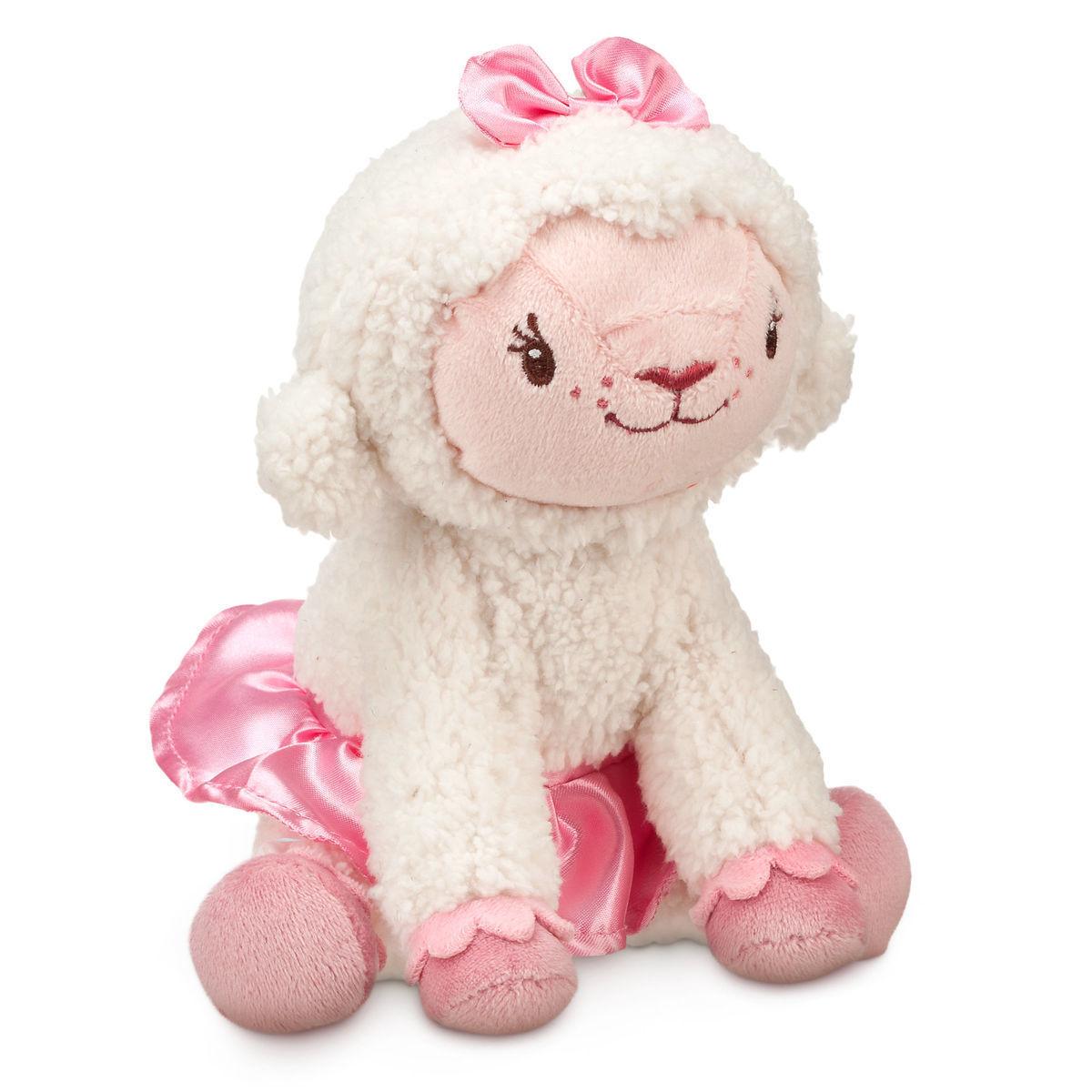 Мягкая игрушка овечка Лэмми - Доктор Плюшева - 17,5 см