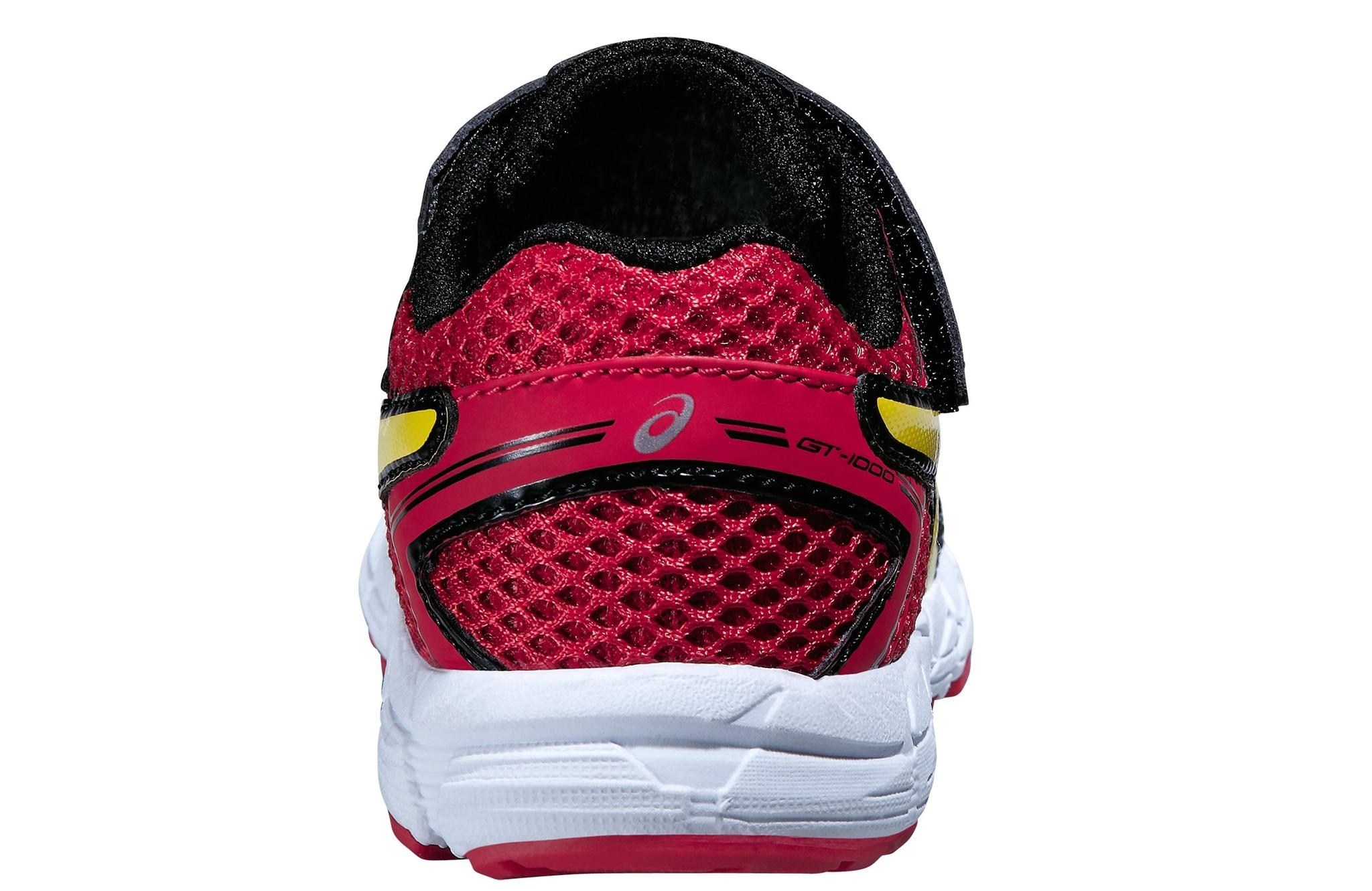 Детские спортивные кроссовки Asics GT-1000 4 TS (C555N 9007) черные фото