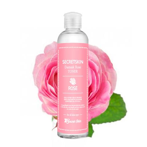 Тонер для лица с экстрактом розы Secret Skin Damask Rose Relax Toner 250 мл
