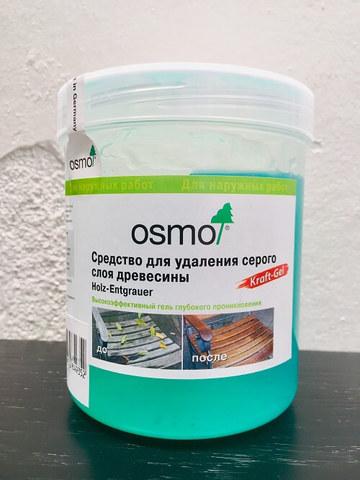 Средство для удаления серого слоя древесины OSMO Kraft Gel