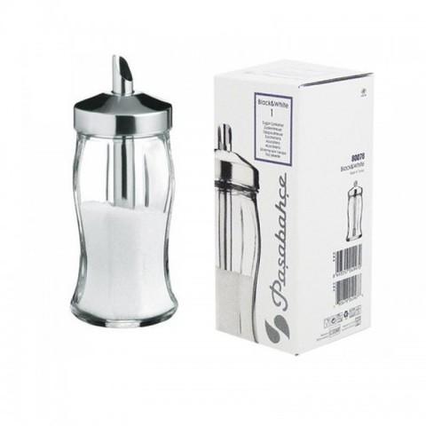 Дозатор для сахара Pasabahce Black&White 240 мл (80078)