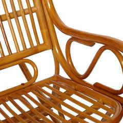Кресло-качалка VIENNA (разборная) / без подушки / ротанг top quality, Cognac (коньяк)