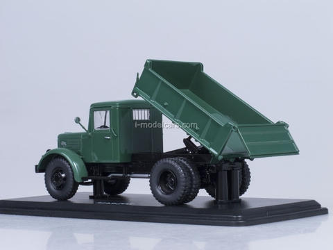 MAZ-205 dump early metal chassis and body Start Scale Models (SSM) 1:43