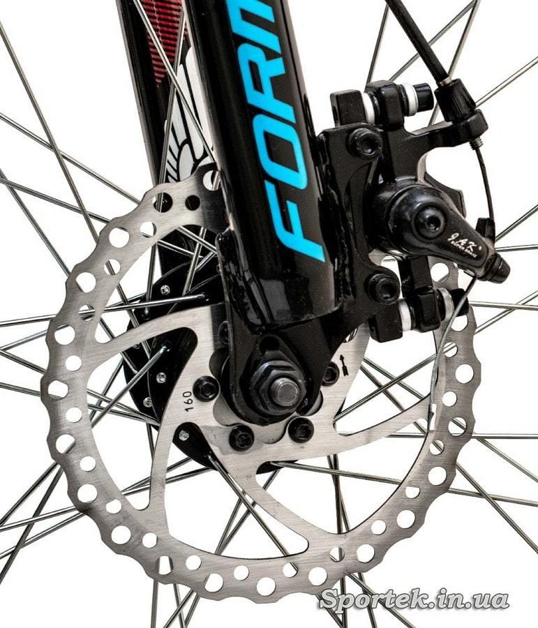 Дисковый тормоз горного универсального велосипеда Formula Blaze DD 2016