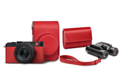 Leica D-LUX Red Square Twin Set