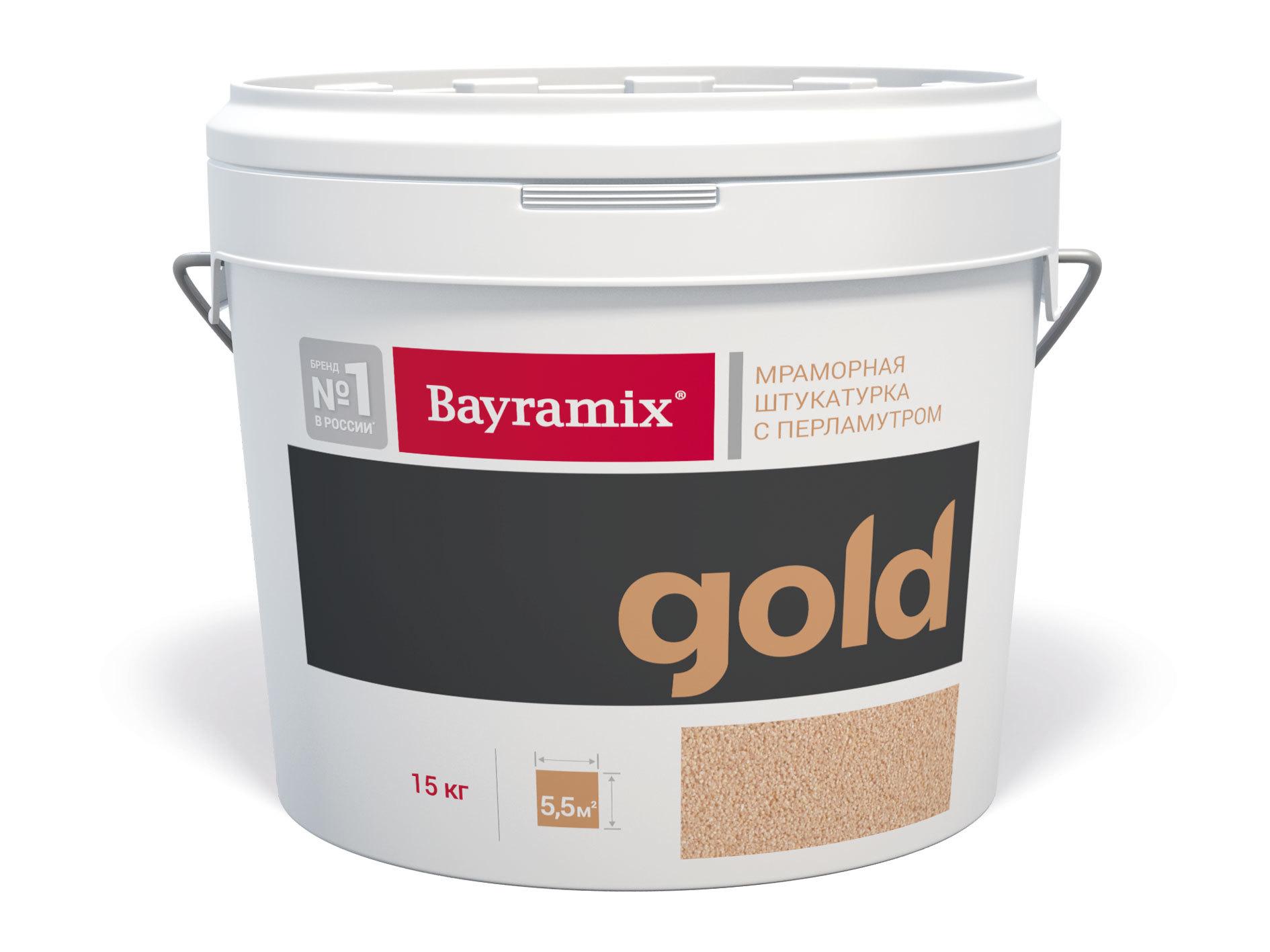Штукатурка декоративная мраморная Bayramix Mineral Gold / Байрамикс Минерал Голд